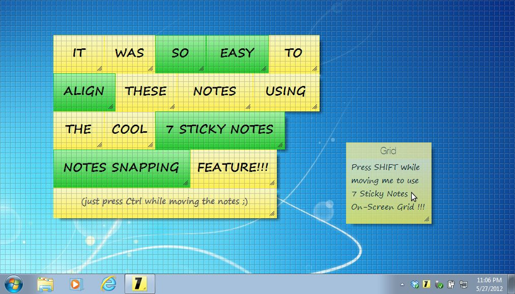 7 Sticky Notes Screenshots